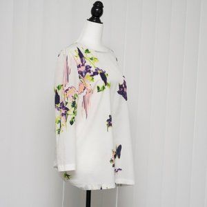 French Connection Abstract Floral Blouse